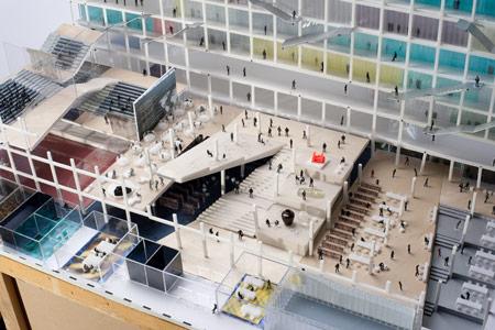 dzn_OMA-Chu-Hai-Campus-model-shot