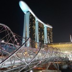 【新加坡】Singapore Marina Bay Sands「SkyPark Obervation」- 一望無際很隱蔽