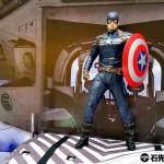 《美國隊長2》登陸銅鑼灣希慎廣場,1:1 Captain America 玩偶合照