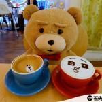 【台北.南京三民】Sam咖啡 – 與賤熊一齊喝 LINE 熊大及兔兔