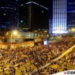紀錄香港(2014.09.29) – 沒有警察,只有無奈的集會人士