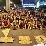 紀錄香港(2014.09.27) – 和平理性的靜坐集會