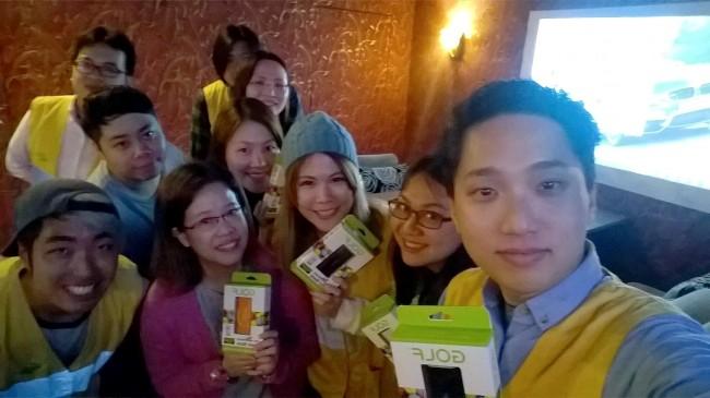 使用 Lumia Selfie 拍攝