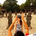 【越南.順化】 啟定皇陵 – 融合中華與法蘭西文化的皇陵
