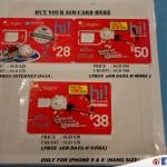 【教學】【新加坡】樟宜機場限定 – Changi Recommends 的 4G SIM Card 價格