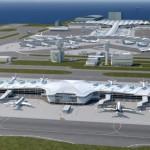 香港機場正在建的是這個,能夠容納 A380 的 20 個全新停機位