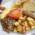 【美國.西雅圖】The Lucky Diner – 24 小時都有吃到撐的早餐