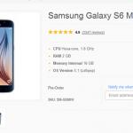Samsung Galaxy S6 Mini 果真存在,但僅在阿聯酋預售?