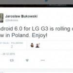 LG G3 正式在波蘭推送 Android 6.0 更新