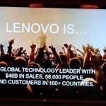 CES 2016:Lenovo 要進一步讓業務架構更全面