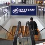 【香港】SkyTeam Lounge 的位置就在 15 號閘旁邊啊~