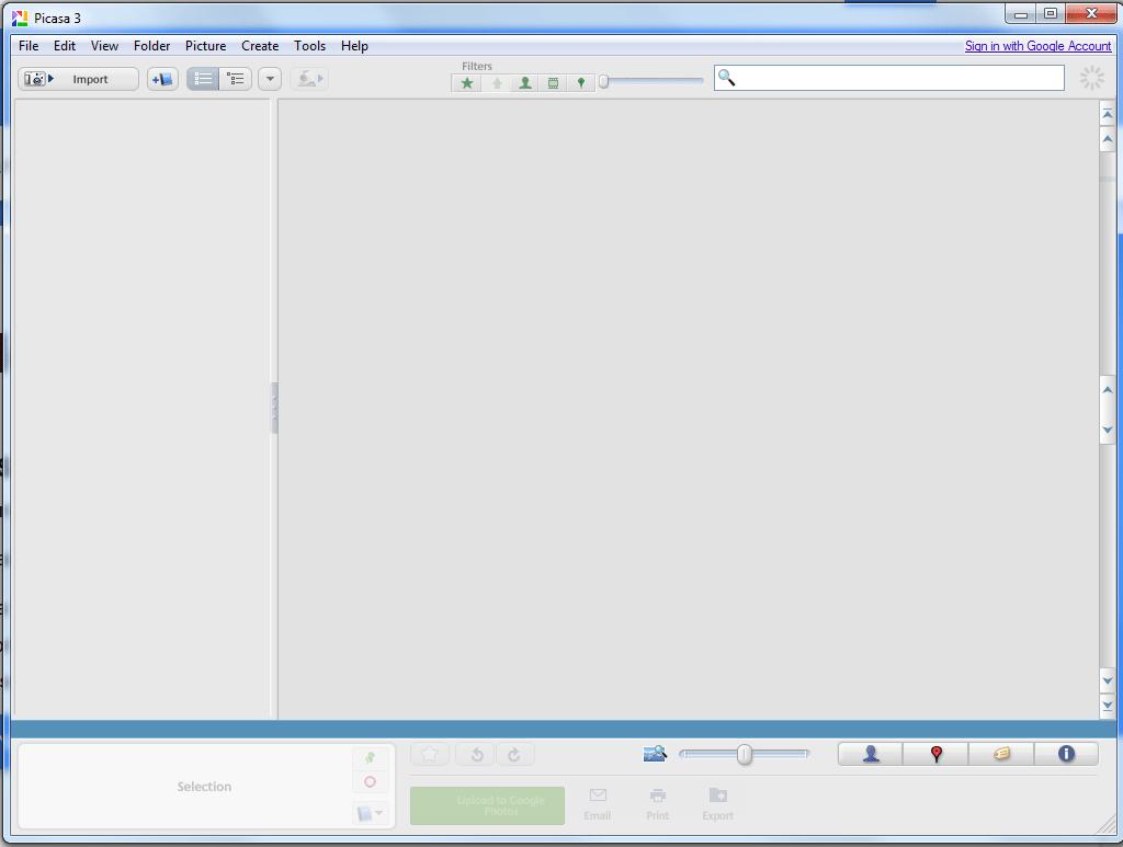 Picasa desktop