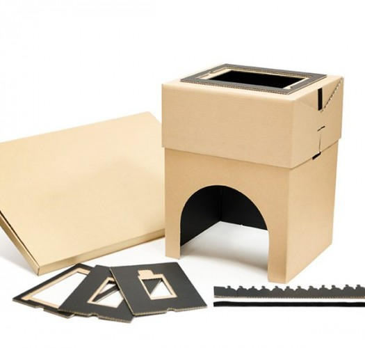 cardboard home 1