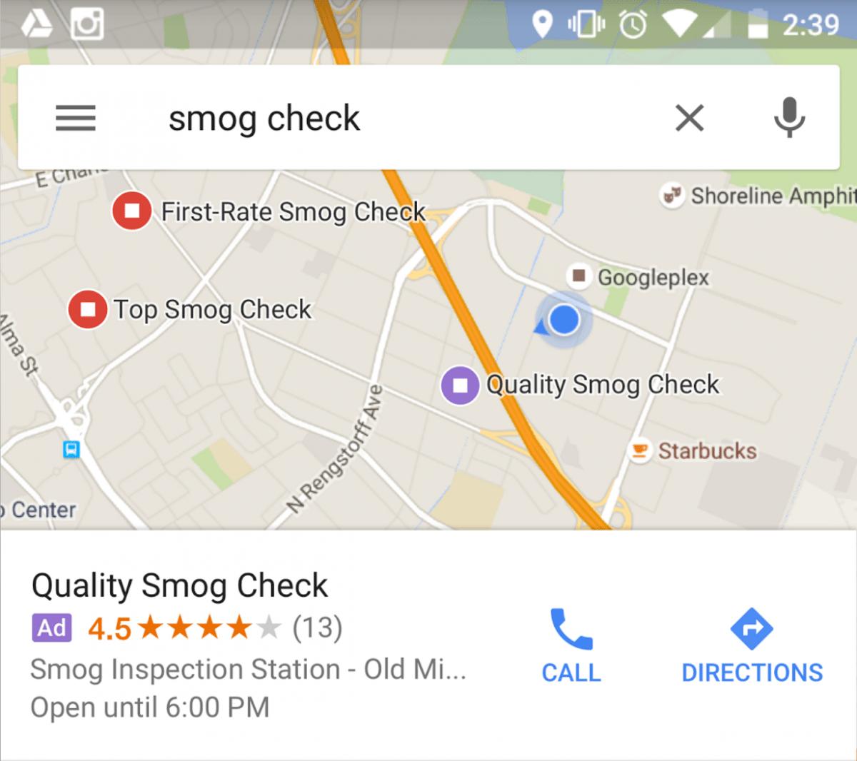 google map ads smaple 3